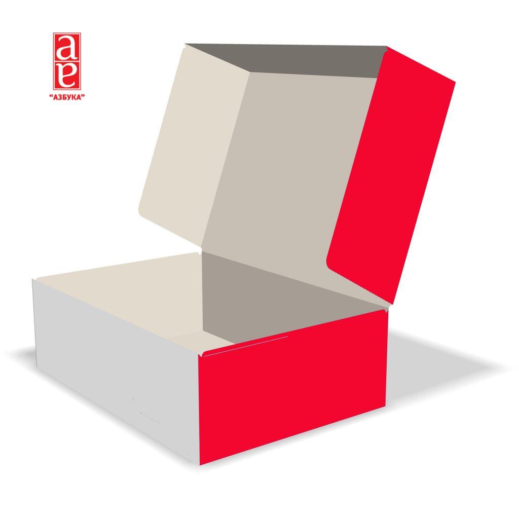 Коробка с крышкой 110х50х158 мм.
