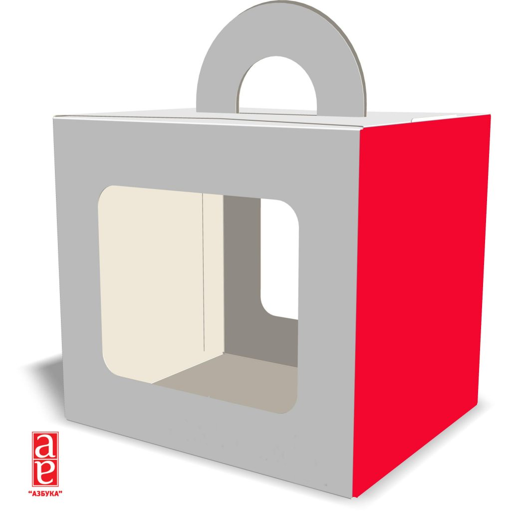Коробка с ручкой для подарков