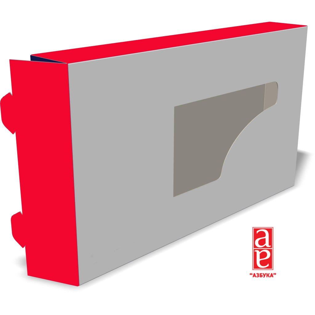 коробка со смотровым окном