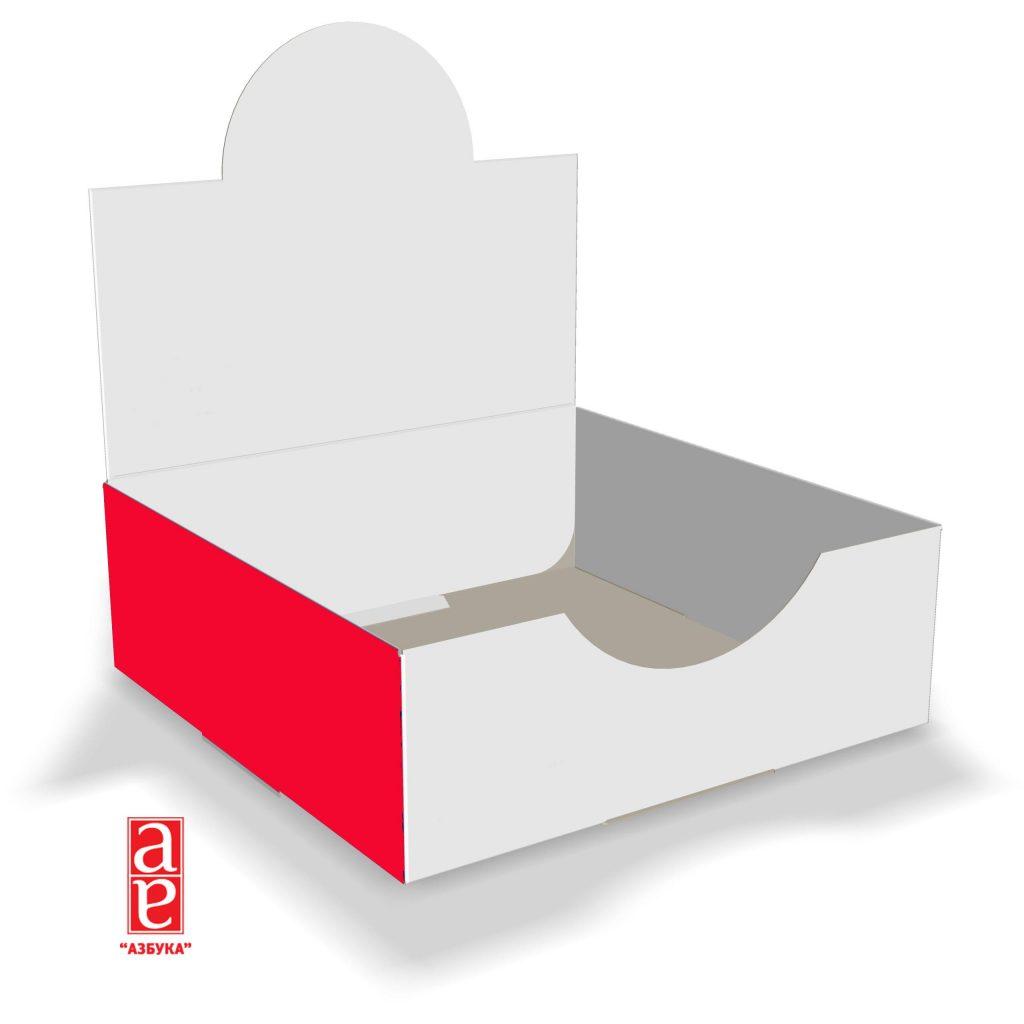 коробка-лоток для рекламной продукции
