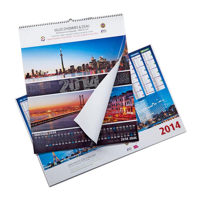 Настенный перекидной календарь 3