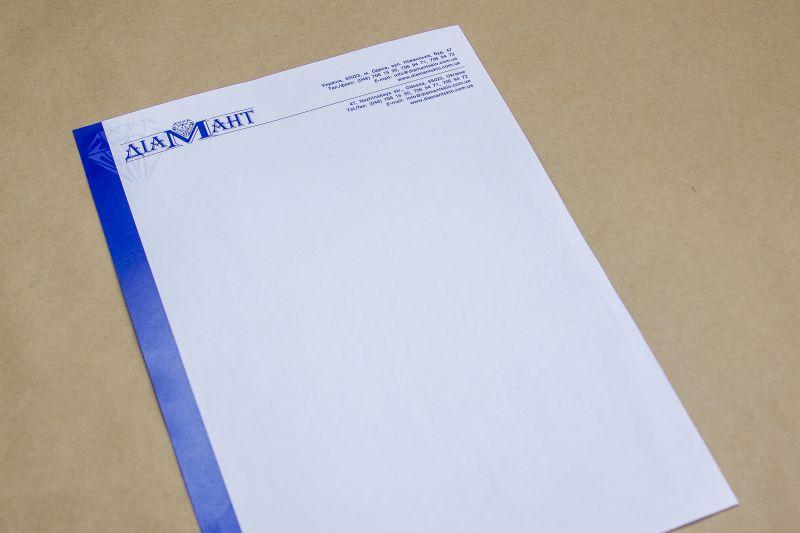 печать бланков фирменных
