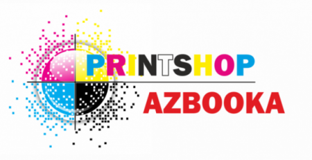 printshop AZBOOKA роль логотипа