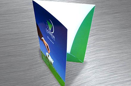 Папки для презентацій картонні