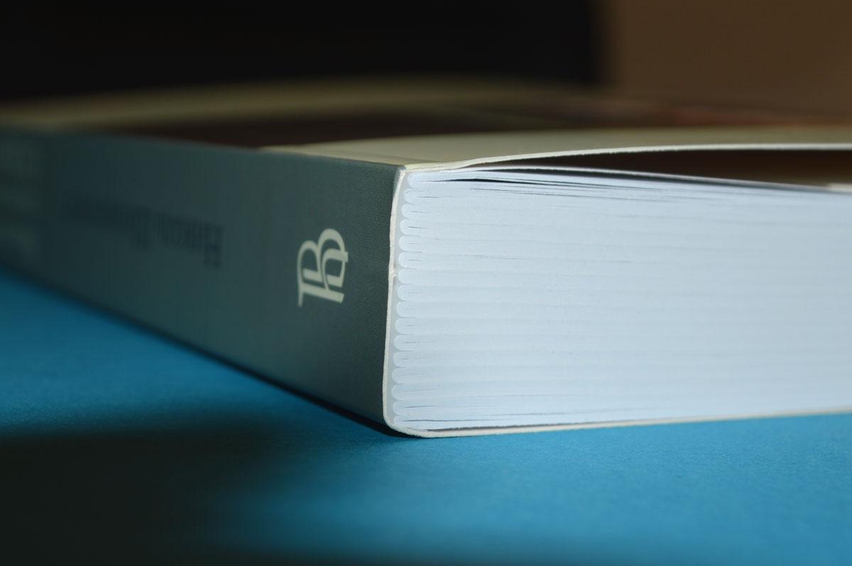 Печать каталогов переплет клеевой