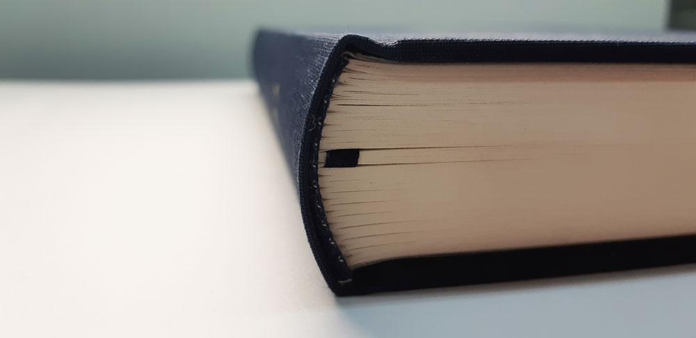 Круглый корешок для книги