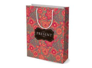 Паперовий пакет для подарунків і сувенірів