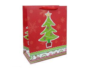 Паперовий пакет для новорічних подарунків