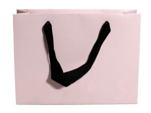 Пакет з паперу для модного показу