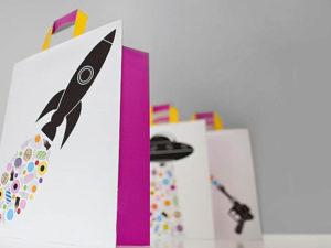 Креативні паперові пакети