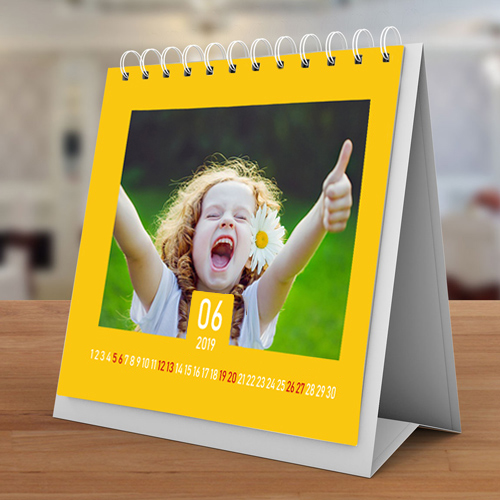 Перекидний календар на металевій пріжіне з Вашою рекламою