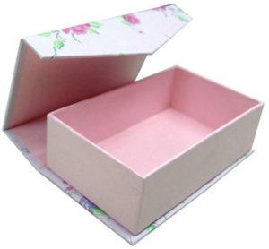 подарочная коробка для книги в виде шкатулки