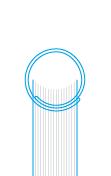 скріплення на пластикову або металеву пружину