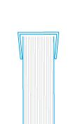 Скріплення листів пластиковим затиском