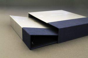 Подарочный футляр для книги или папки с образцами