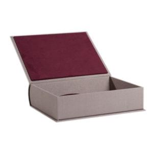 Коробка бокс в виде шкатулки для книги или сувениров