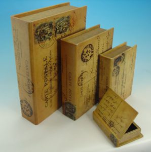Коробка шкатулки для подарка или книги