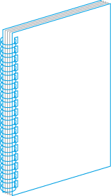 Обкладинка брошур металевою пружиною