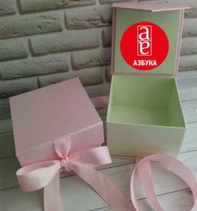 Коробка шкатулка з дизайнерського картону