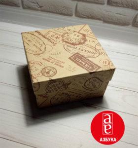 Коробка з кришкою для подарунків