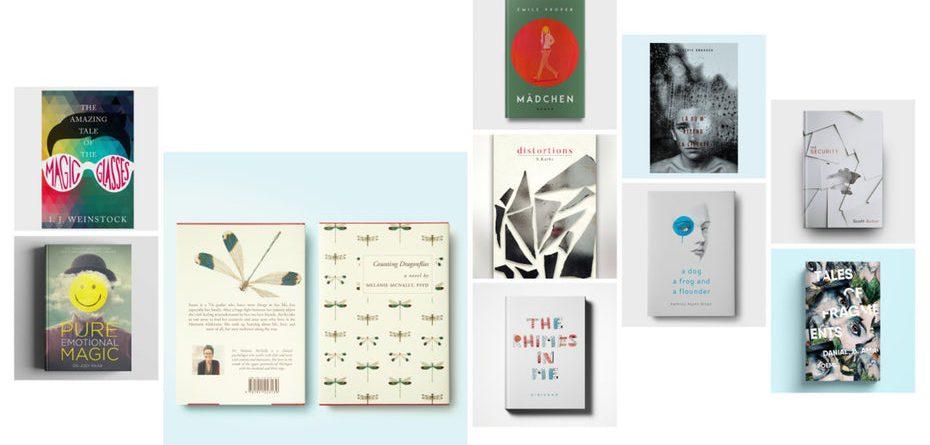 тенденции дизайна обложек книг