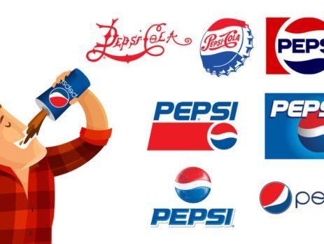 История логотипа Pepsi