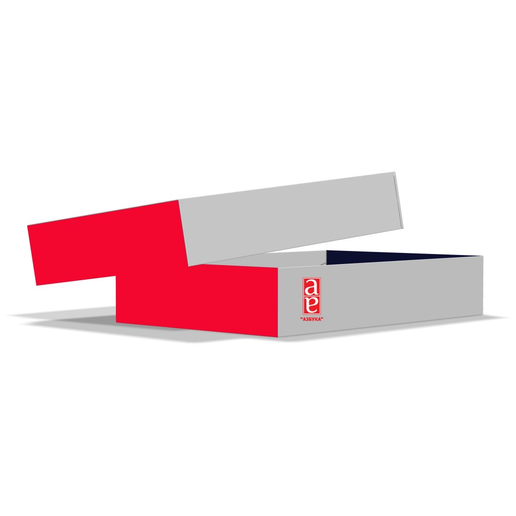 коробка крышка-дно 240x160x43 мм.