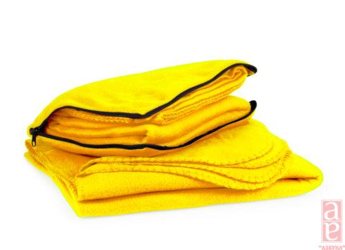 плед сувенірний жовтий