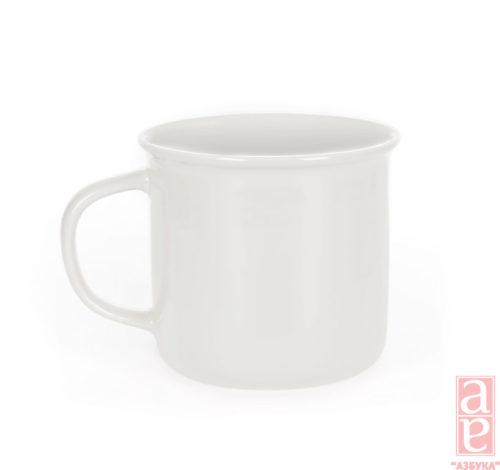 чашка белая Merlin