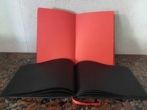блокнот из дизайнерской бумаги