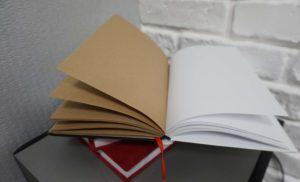Вариант блокнота с цветными листами