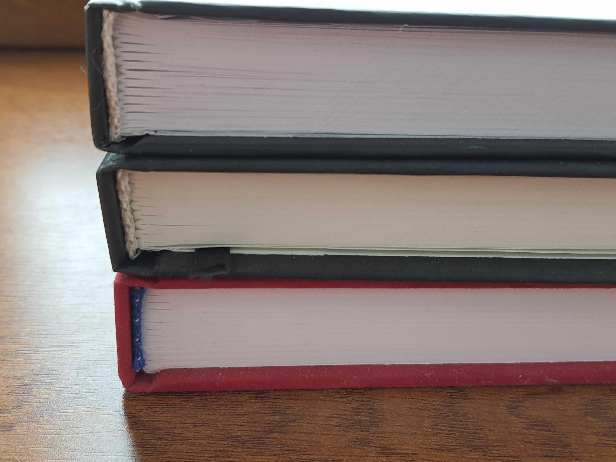 переплет книг на нитку