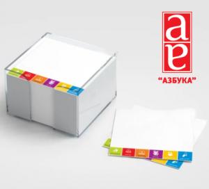 Блок листів для записів кубарики