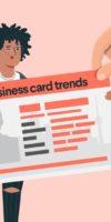 Тенденции в сфере визиток